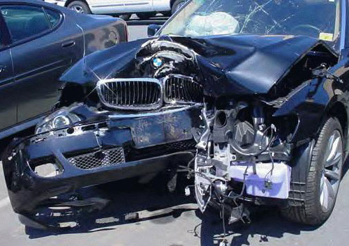 Auto Insurance BMW Front End